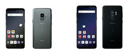 Galaxy S9 SC-02K・Galaxy S9+ SC-03K 画像