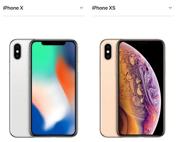 iPhone X・iPhone XS