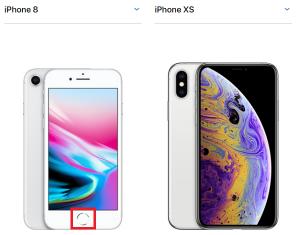 iPhone8 iPhoneXSホームボタン