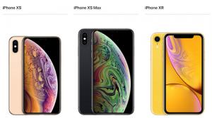 iPhoneXS XS MAX XR