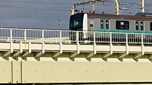 Xperia XZ3電車画像