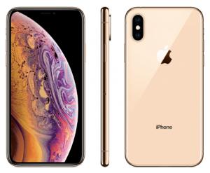 iphoneXS ゴールド