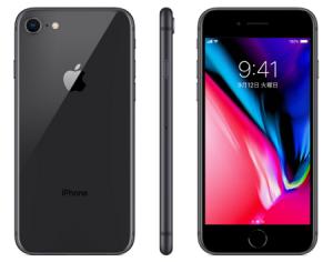 iphone8カラースペースグレイ