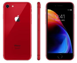 iphone8カラーレッド
