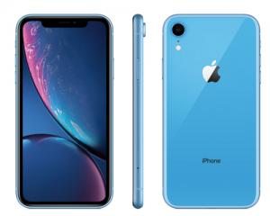 iphoneXRブルー