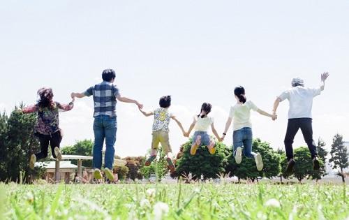 みんなドコモ割で家族みんなが幸せになってる 家族