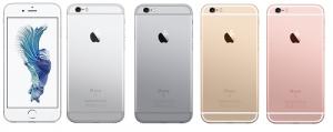 iPhone6s カラーバリエーション