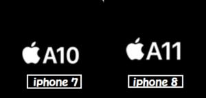 iphone7 8 エンジン 比較