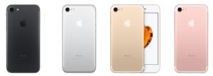 iphone7 カラーバリエーション