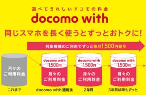 docomo with(ドコモウィズ)