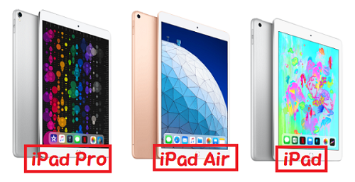 iPad Air iPad Pro iPad
