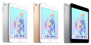 iPad mini4 色バリエーション