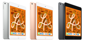 iPad mini 色バリエーション