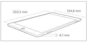iPad mini サイズ画像