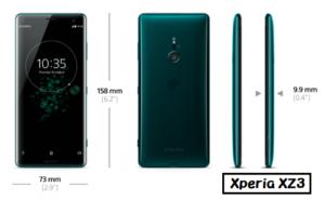 Xperia 1 Xperia XZ3 ディスプレイ 比較