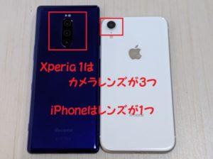 Xperia 1カメラ機能