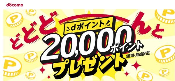 20,000ポイントクーポン