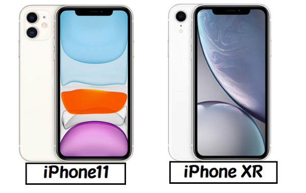 iPhone 11 iPhone XR