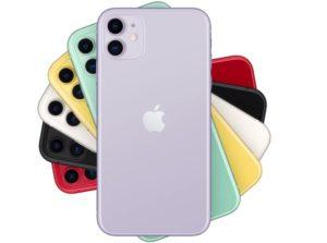 iPhone11 色展開