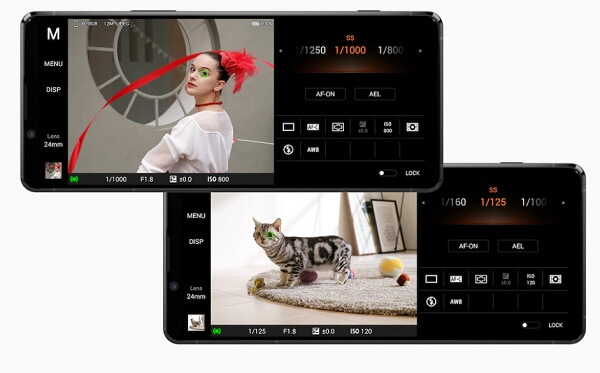 Xperia1Ⅱ カメラ機能