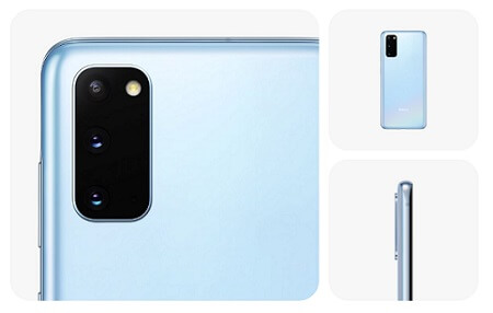 Galaxy S20 カメラ