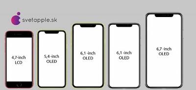 iPhone12 本体サイズ コンセプト画像
