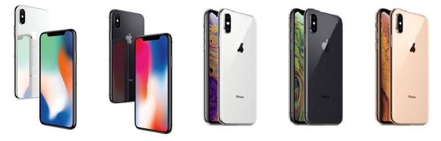 iPhoneX・XS・XS MAX 色 カラー