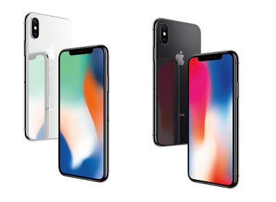iPhone X シルバー スペースグレイ 2色