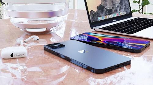 iPhone12 Pro 12Pro max  ネイビーブルー