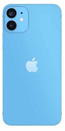 iPhone12 ライトブルー