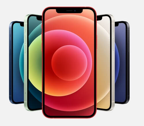 iPhone12・12mini色