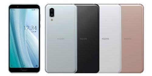 AQUOS sense 3plus 色 カラーバリーエーション