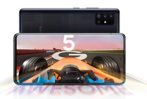 Galaxy A51 ディスプレイ性能