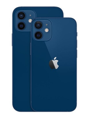 iPhone12 iPhone12mini ブルー