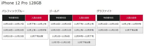 コモオンラインショップiPhone12入荷・在庫スケジュール