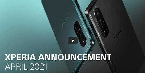 ソニー新製品発表会でXperia 1 Ⅲの発売を発表