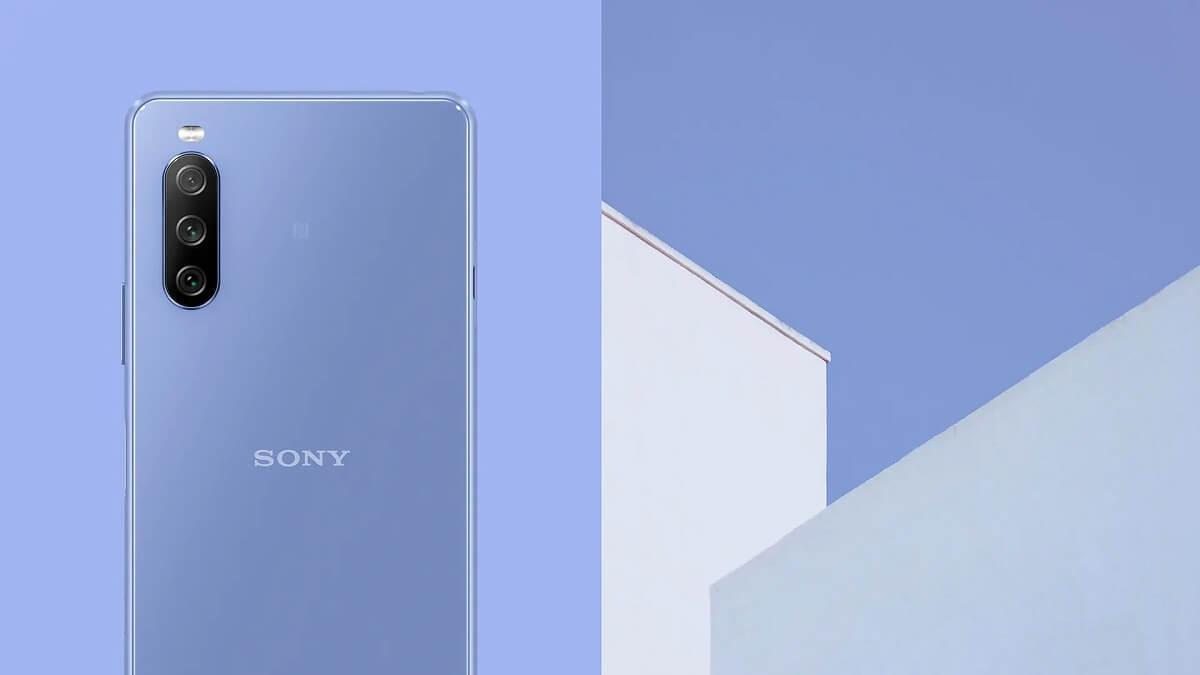 Xperia 10Ⅲ 色 ブルー