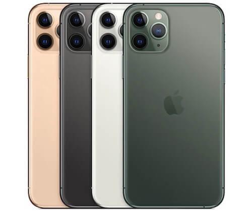 iPhone11 Pro カラーバリエーション