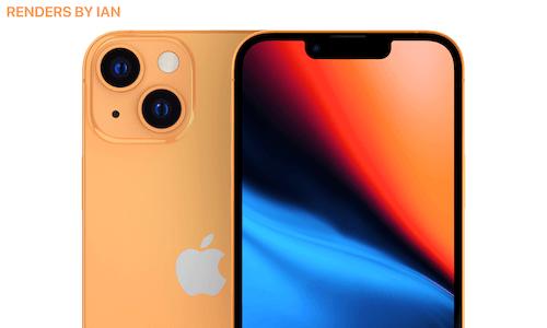 iPhone13デザイン