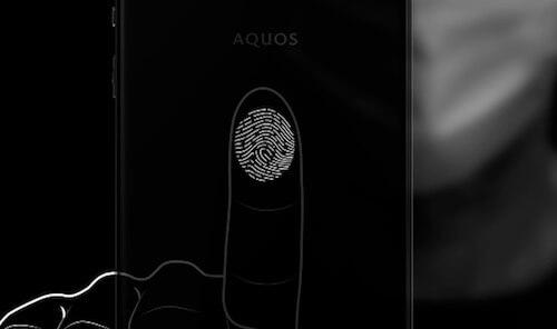 AQUOS zero6 指紋認証