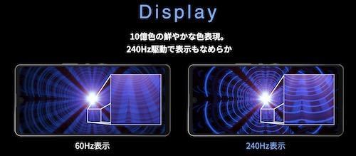 AQUOS zero6 display